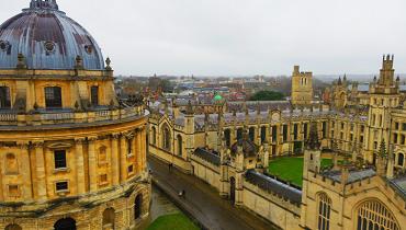 オックスフォード大学カバー