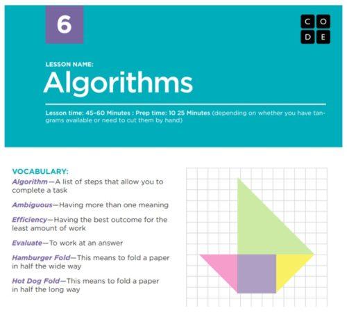 code.org Algorithms