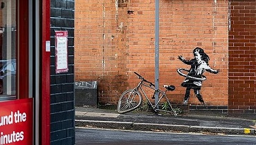 Banksyノッティンガムの作品