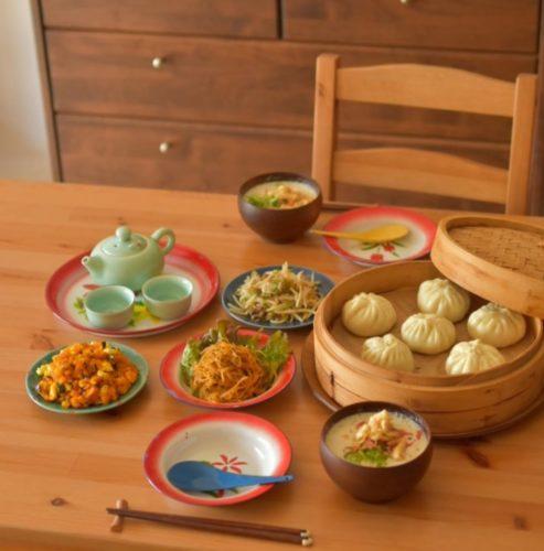 自宅で中華料理