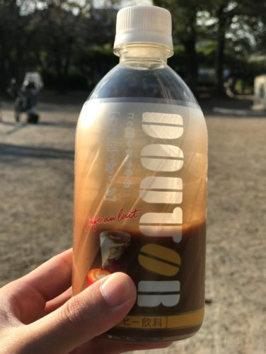 ドトールコーヒーのカフェ・オ・レ(ペットボトル)