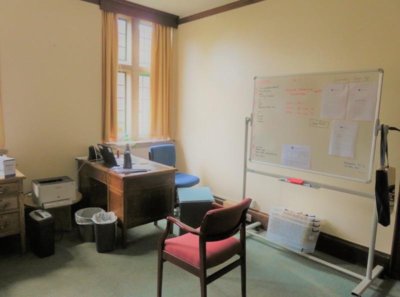 オックスフォード大学の教授の部屋