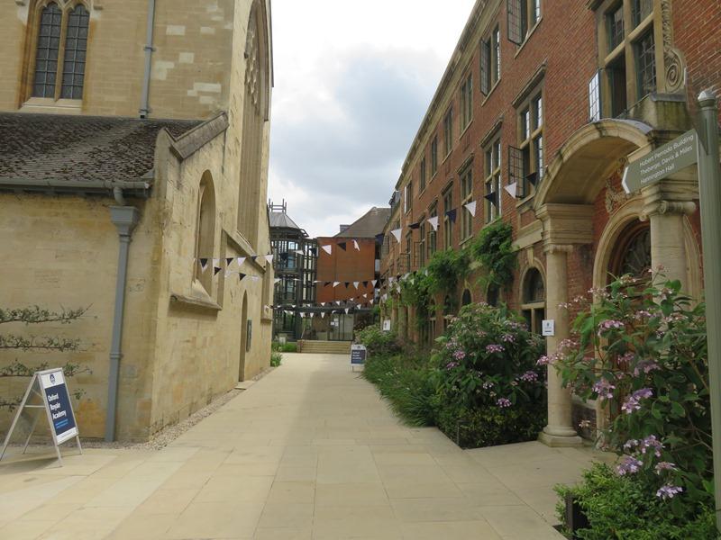 オックスフォード大学のキャンパス