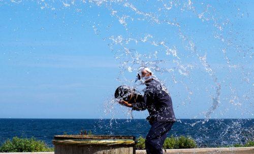 DENENの揚げ浜式 製塩法