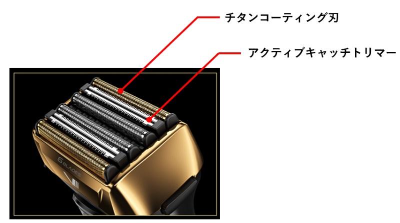 マクセルイズミ6枚刃シェーバーの刃の概要