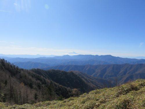 雲取山の山頂はもうすぐ