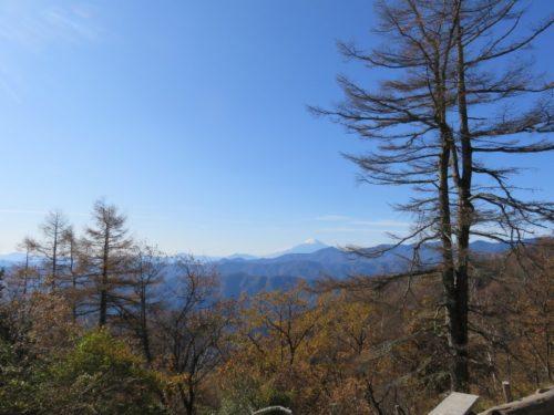 七ツ石小屋からの眺め