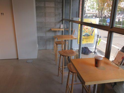 ブルーボトルコーヒー 池袋カフェの内観