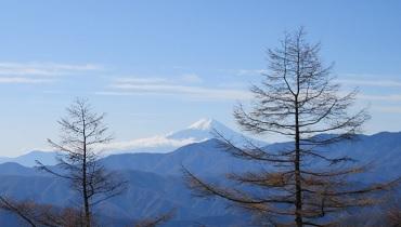雲取山と富士山のカバー
