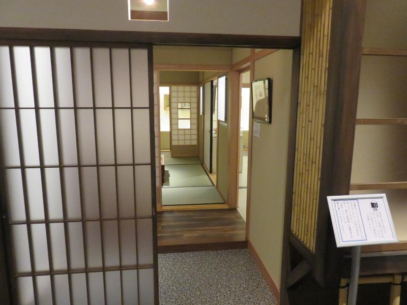 太宰治の三鷹の小さな家の玄関
