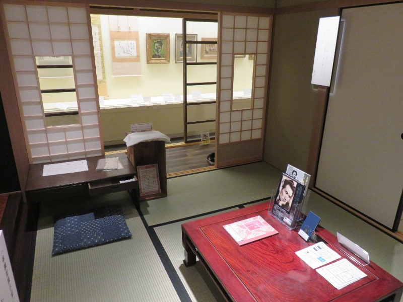 太宰治6畳間の書斎