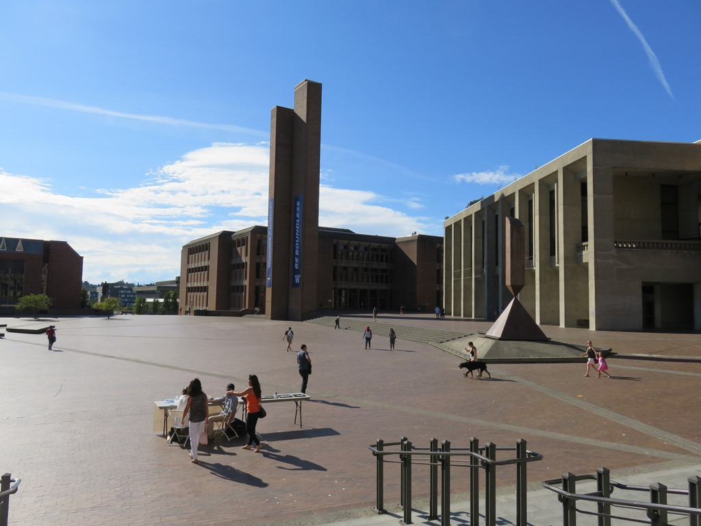 ワシントン大学のキャンパス