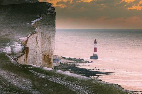 ビーチヘッドとチョーク岩