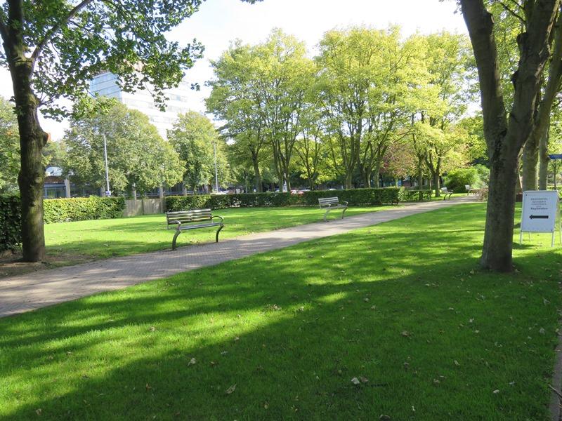 リバプールの公園