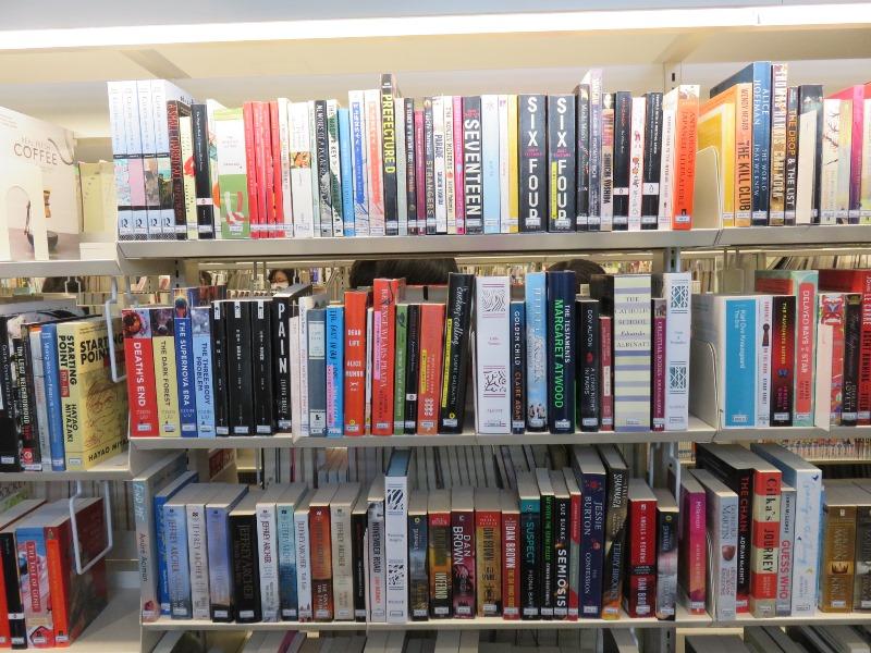 洋書が充実している板橋区新中央図書館