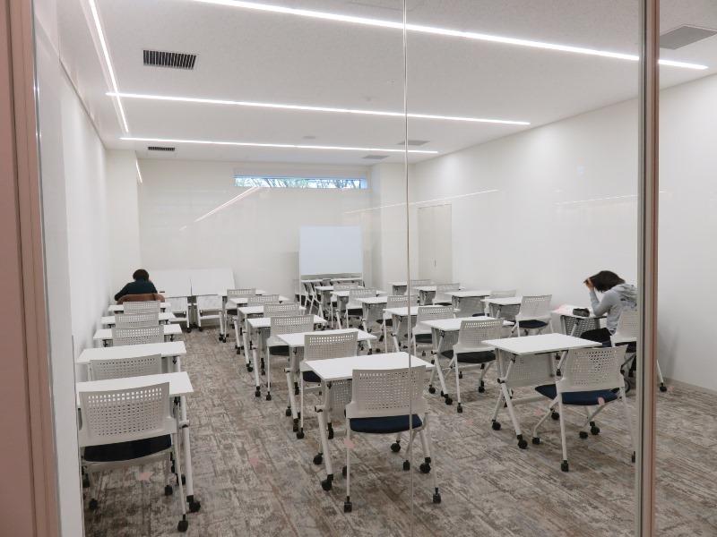 板橋区新中央図書館の多目的ルーム
