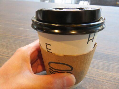 シェイクシャックのホットコーヒー