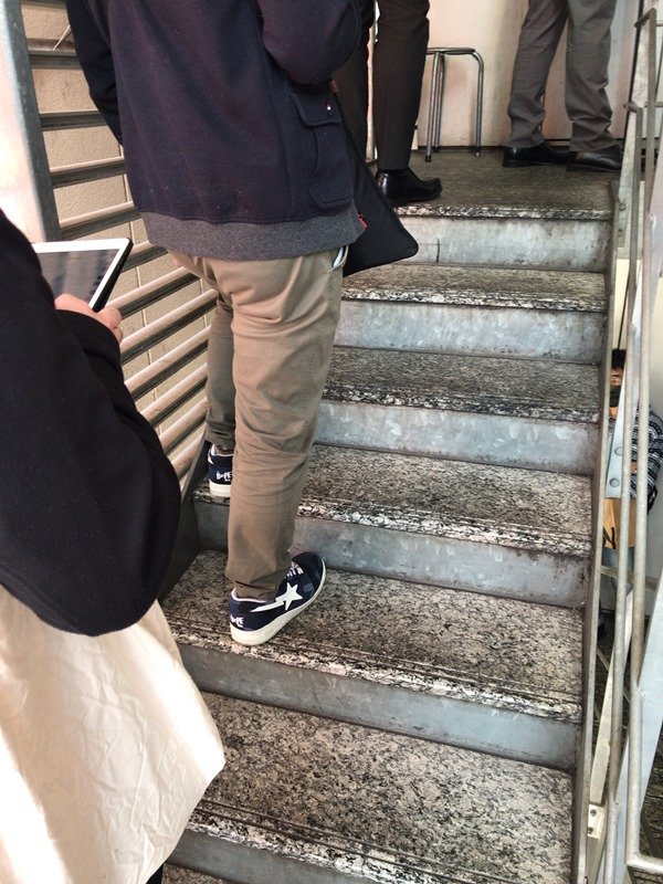 食肉センター神保町上野店のランチの時間は行列あり