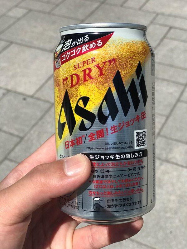 キレ味抜群アサヒスーパードライ 生ジョッキ缶