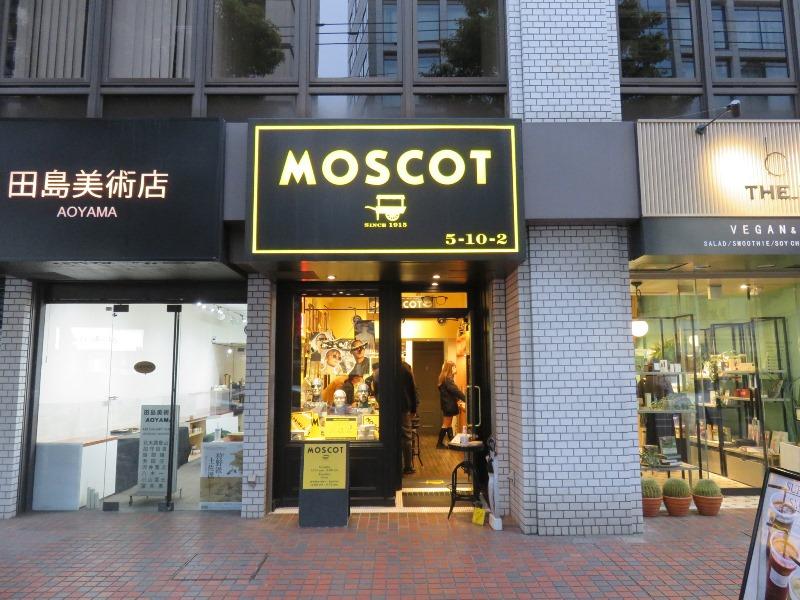 MOSCOT Tokyo Shopの外観