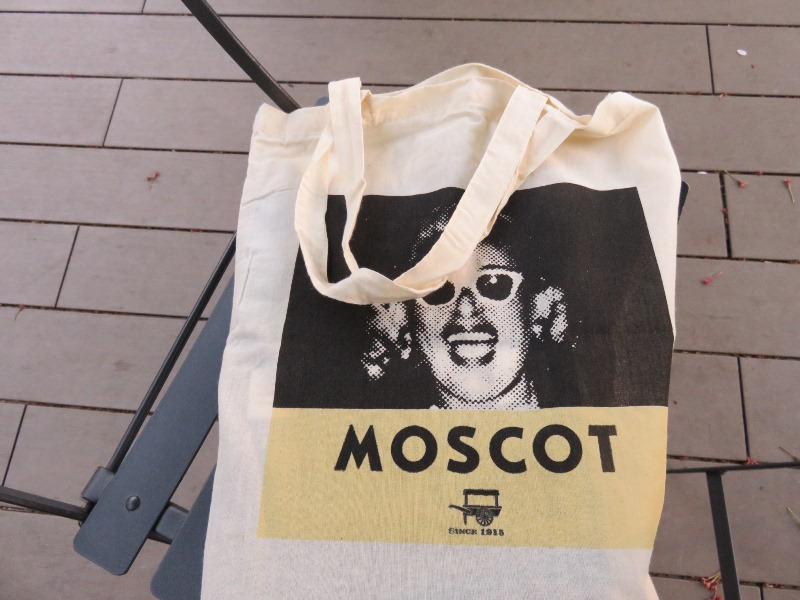 MOSCOTのトートバッグ