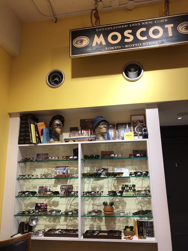 MOSCOT Tokyo Shopの内観
