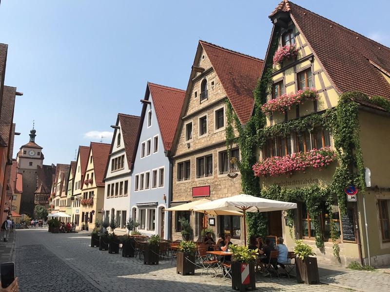 ドイツのローテンブルク・オプ・デア・タウバーの生活
