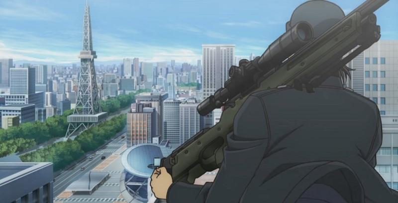 劇場版「名探偵コナン緋色の弾丸」赤井秀一とショットガン(銀の銃弾)