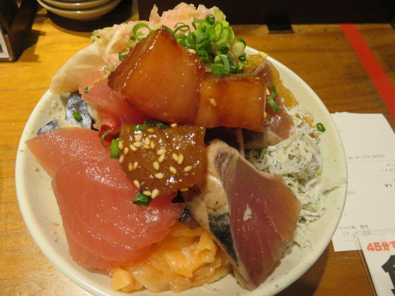 沼津港海将上野1号店のランチ食べ放題の海鮮