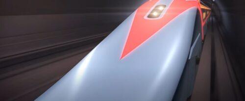 劇場版『名探偵コナン 緋色の弾丸』のリニアの最高速の際は赤色