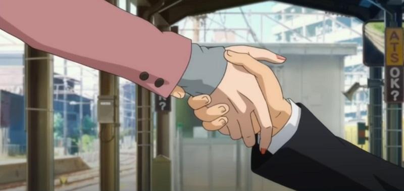シン・エヴァンゲリオン劇場版のエンディングに登場する大人の碇シンジのシーン