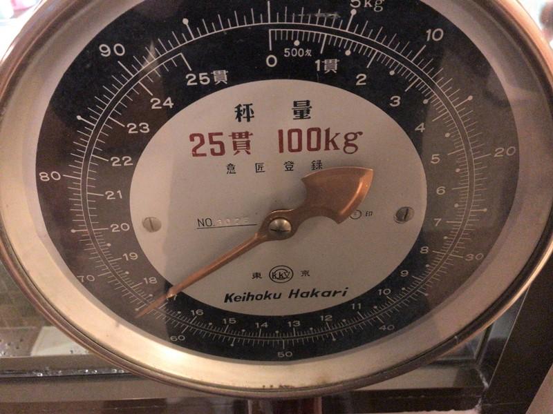 銭湯の体重計