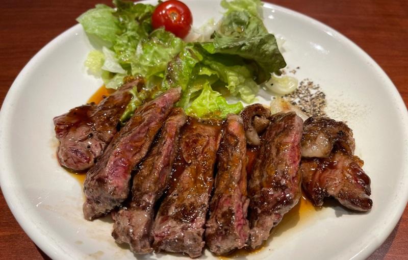 上野の肉の大山の肉の日29日のステーキ290円