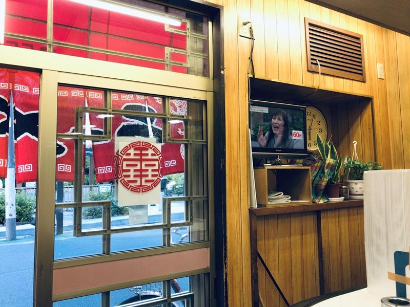 東武練馬の中華料理屋天宝の内観
