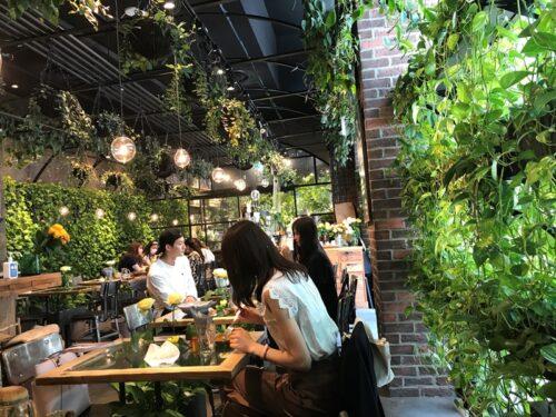 女子会やカップルデートでも使える青山フラワーマーケット ティーハウス赤坂Bizタワー店