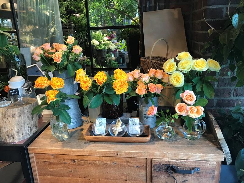 青山フラワーマーケット ティーハウス赤坂Bizタワー店のお花