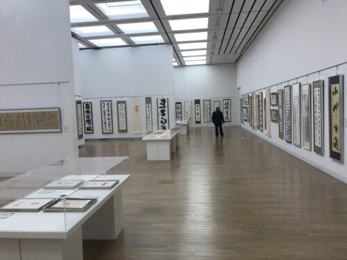 第49回「日本の書展」東京展の会場の写真3