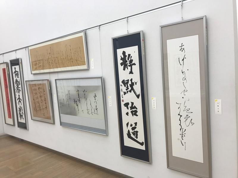 第49回「日本の書展」東京展の会場の写真4