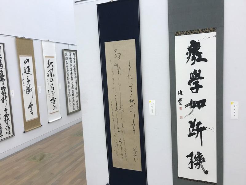 第49回「日本の書展」東京展の会場の写真5