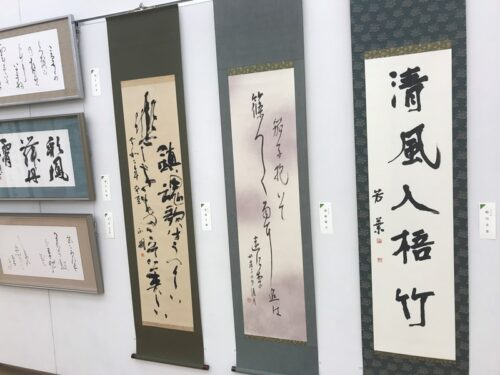 第49回「日本の書展」東京展の会場の写真8