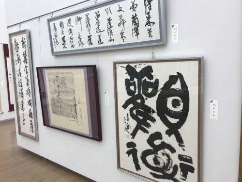 第49回「日本の書展」東京展の会場の写真10