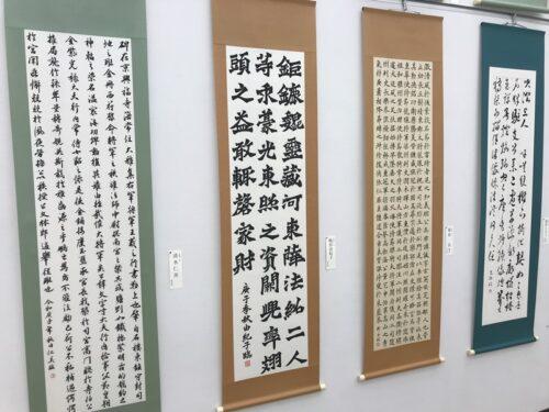 第49回「日本の書展」東京展の会場の写真13