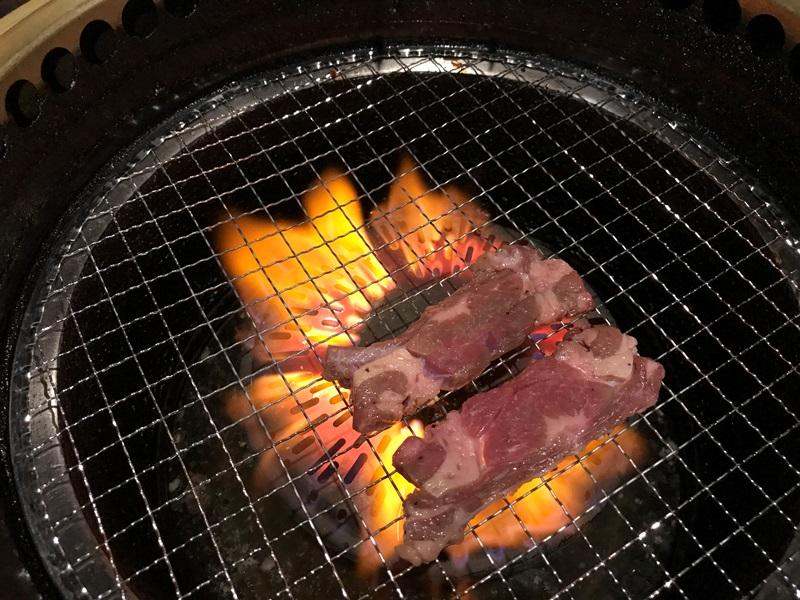 東武練馬の焼肉問屋で牛タン下定食