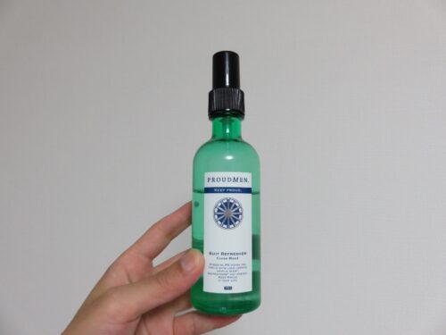 プラウドメン スーツリフレッシャー(グリーンウッドの香り) ファブリックスプレー
