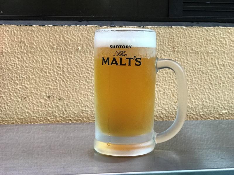 ザ・モルツの生ビール