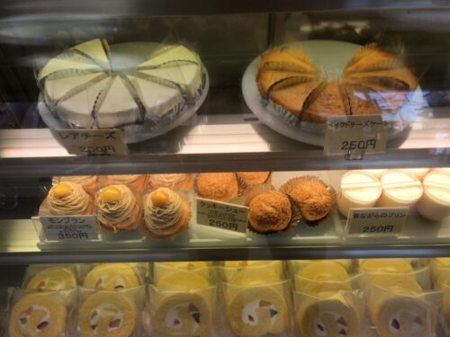 「ひと本石田屋」のケーキ