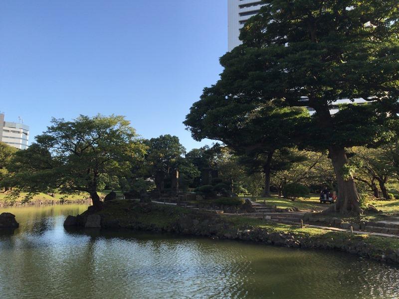 大都会の癒し空間(旧芝離宮恩賜庭園)
