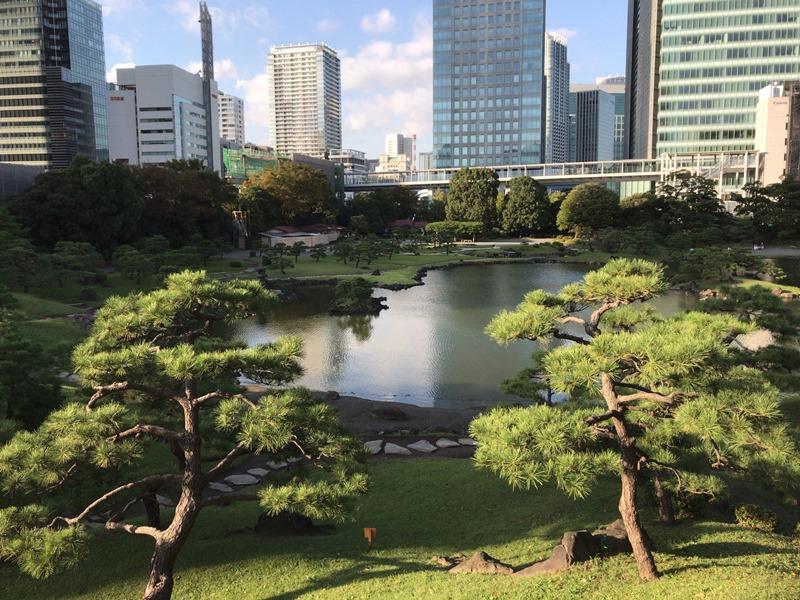 東京浜松町の癒し空間旧芝離宮恩賜庭園