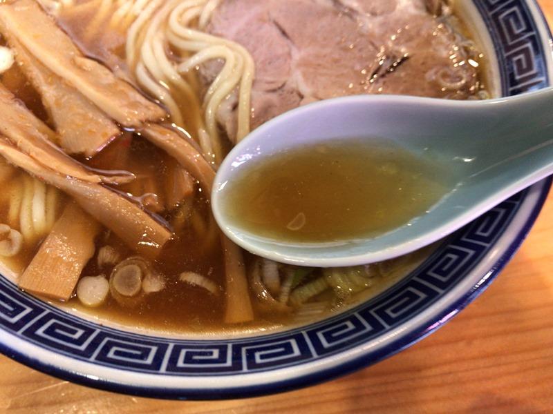 魂の中華そばのスープ